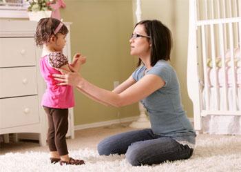 Как научить малыша аккуратности