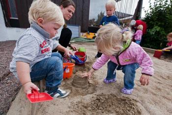 Первый поход малыша в детский сад
