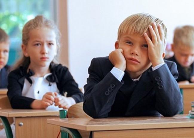 Если малыш не желает учиться в школе